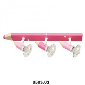 Otroška svetila barvica stropna (3 žarnice)