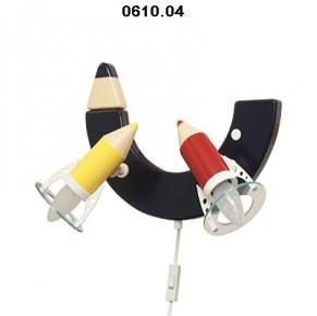 Otroška svetila barvica stenska (2 žarnici)