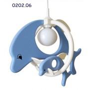 Otroška svetila delfin 1 veliki in 1 majhen