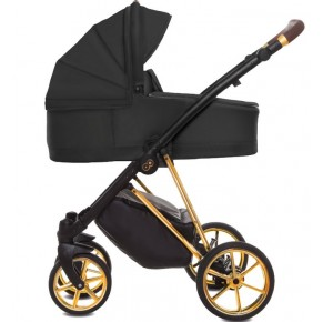 Otroški voziček Musse Ultra BLACK