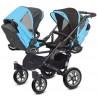 Vozički za dvojčke Babyactive Twinni Classic črno ohišje