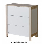 Komoda Basic bela breza
