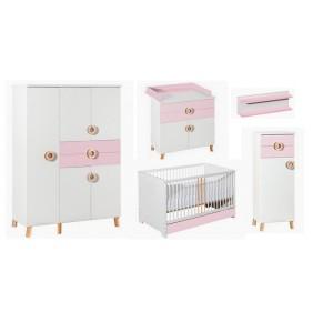 Otroška soba CLASSIC roza