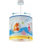 Otroško rotacijsko stropno svetilo Dalber Aquarium
