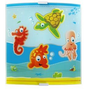Stensko otroško svetilo Dalber Aquarium