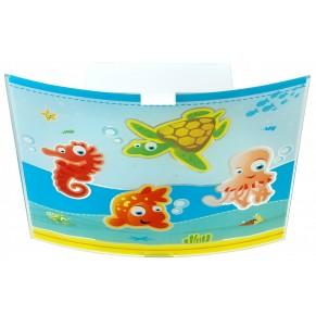 Stropno otroško svetilo Dalber Aquarium
