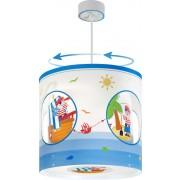 Rotacijsko otroško stropno svetilo Dalber Pirate