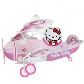 Stropna svetilka Hello Kitty letalo