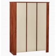 Tridelna garderobna omara za oblačila Ivo