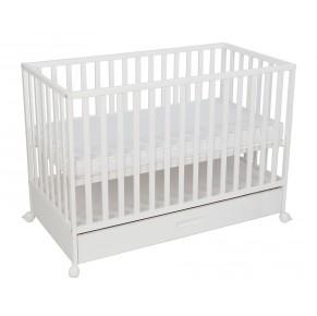 Otroška posteljica LUX 120 x 60 cm z predalom