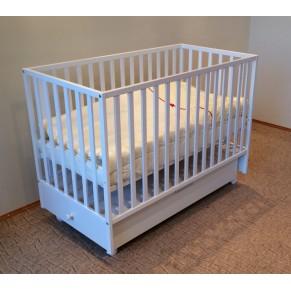 Otroška posteljica LUX 120 x 60 cm s funkcijo zibanja