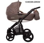 Voziček Mommy 18 BROWN ARROW