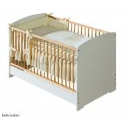 Posteljica 140 x 70 cm z  vzmetnico in posteljnino