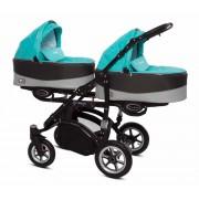 Vozički za dvojčke Babyactive Twinni Premium črno ohišje
