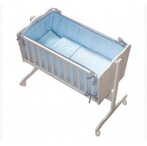 Zibelka z posteljnino