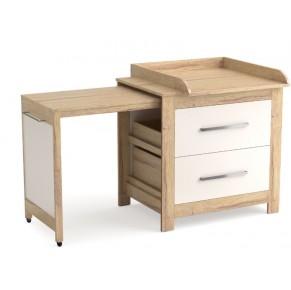 Kopalna komoda z previjalno mizo breza