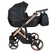 Otroški voziček Nestor QUATRO black