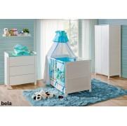 Soba za dojenčke BASIC BELA komplet