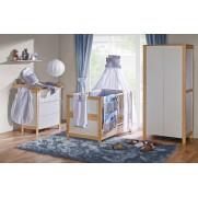 Otroška soba Basic bela breza + BLAZINA GRATIS